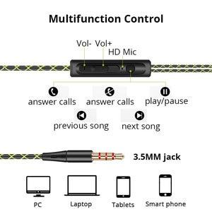 Image 4 - אוזניות 3.5mm ספורט אוזניות סופר סטריאו אוזניות Sweatproof ריצת אוזניות עם מיקרופון אוזן וו אוזניות עבור Meizu אוזניות