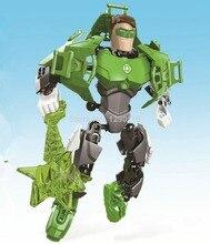 20CM GREEN LANTERN Super Heroes Marvel Avengers Action Figures DIY Model Building Brick Blocks Minifigures Kids Gifts Toys
