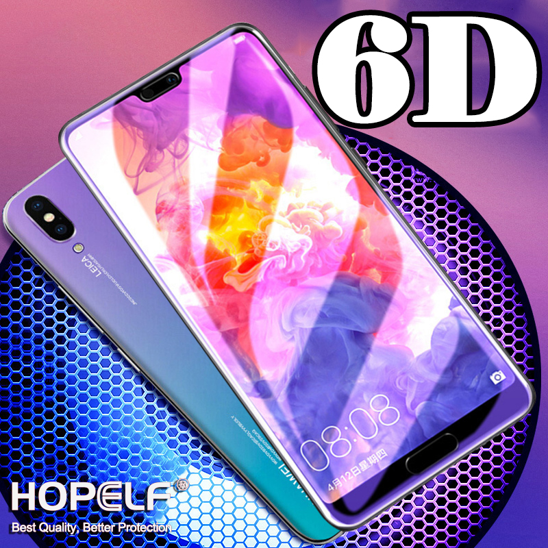 6D Tempered Glass For Huawei Honor 8X 8A 8C 7X Screen Protector On Nova 4 3i Protective Glass For Huawei Honor 8C 8A 9 Lite V20