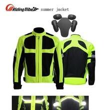 Four Seasons Moto Racing Люцифер Желтый Куртки для мужчин Мотоцикла, флуоресцеина куртка езда одежды мотоцикл лето зима
