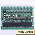 Plc Programmable Logic Controller Single Board PLC FX2N PLC 30MR online monitor, STM32 MCU 16 input 14 output PLC119 #
