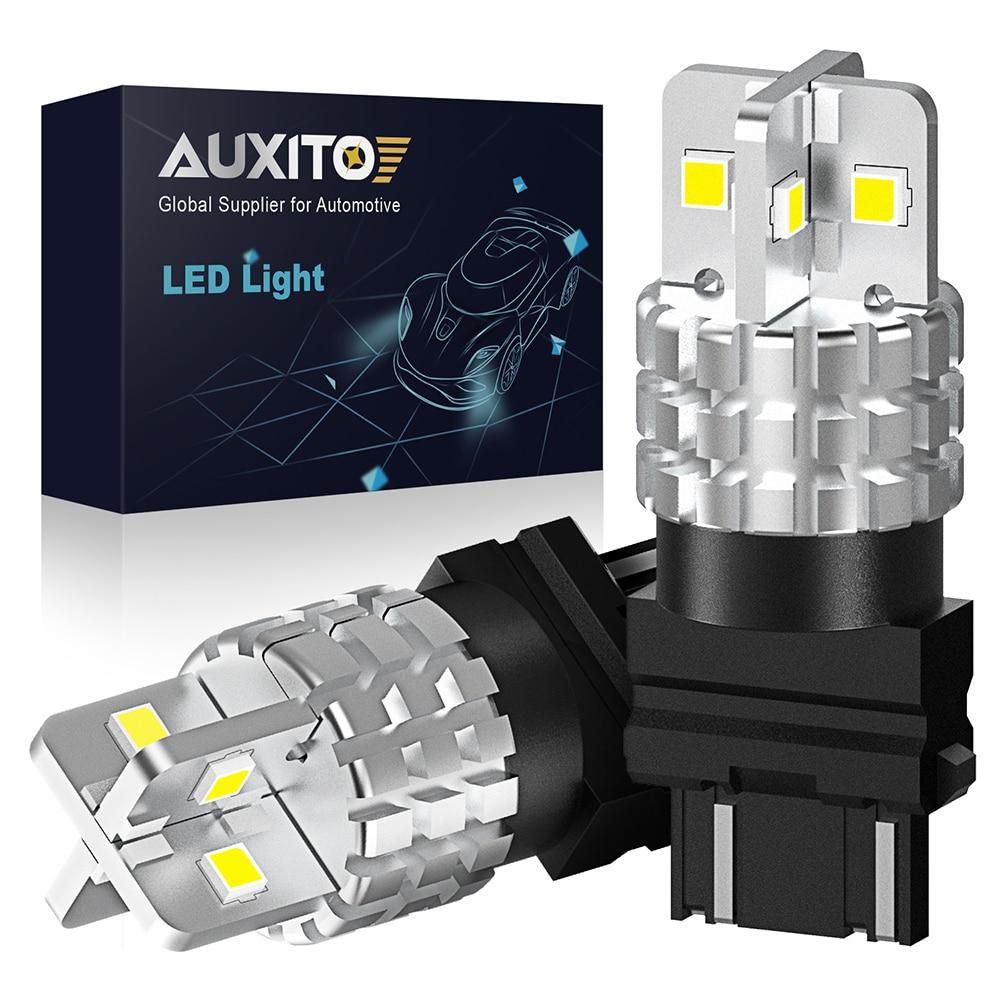 2X 1500Lm T20 W21W LED W21/5W LED 7440 7443 1156 P21W LED Bulb T25 3157 3156 P27/7W Car Brake Reverse Light Turn Signal Lamp 12V