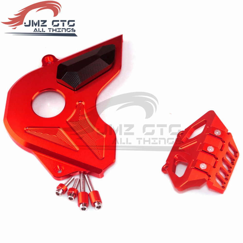 Motorcycle CNC Aluminum Alloy Front Sprocket Chain Guard Protective Cover For Honda CB650F 2014 2015 2016 2017 2018