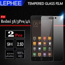 Стекло для Xiaomi Redmi 3S, закаленное стекло для Redmi 3 Pro, Защита экрана для Xiomi Redmi3S 3X 4A, пленка с полным покрытием 5,0 дюйма, 2 шт.