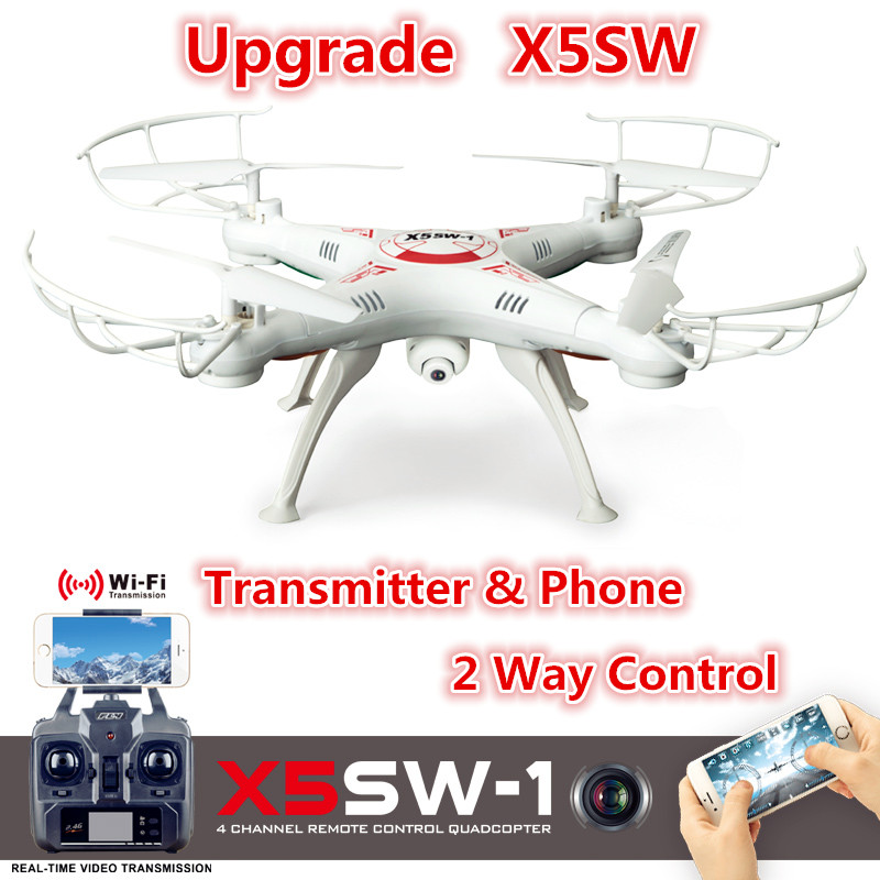 ФОТО original professional drone x5sw x5sw-1 wifi quadcopter with fpv camera headless 6-axis real time remote control helicopter