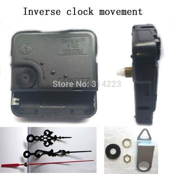 ff4c07995176 Reloj de cuarzo movimiento Kit husillo eje mecanismo 12mm antihorario  movimiento DIY reloj piezas accesorios envío libre