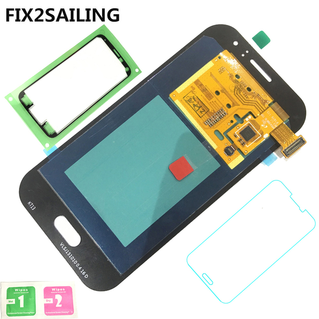 Super AMOLED LCD Display 100% Tested Working Touch Screen Assembly For Samsung Galaxy J1 Ace J110 SM-J110F J110H J110FM