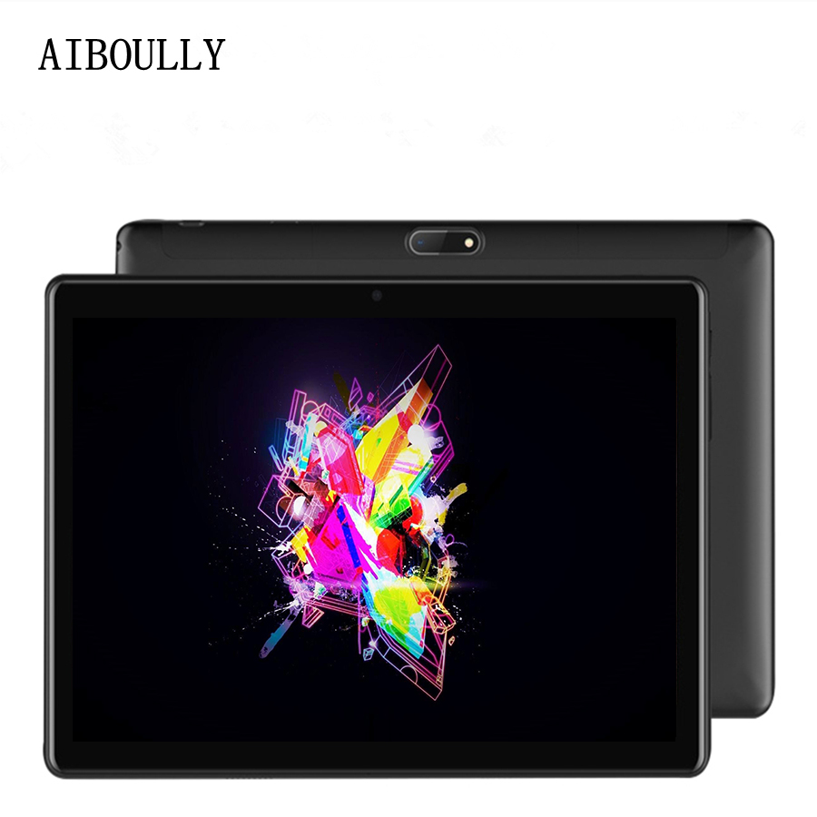 AIBOULLY 10.1 inch Original 4G Phone Call Tablet 3G SIM Card Android 7.0 Octa Core WiFi FM Tablet pc Anroid 7 Tablet 10 10.1'' lnmbbs car tablet android 5 1 octa core 3g phone call 10 1 inch tablette 1280 800ips wifi 5 0 mp function 1 16gb multi play card