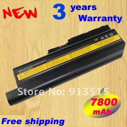 Free shipping! bateria notebook Laptop Battery For IBM Lenovo ThinkPad Battery R60 R60e R61 R61e R61i T60 T60p T61 Z61e Z61m