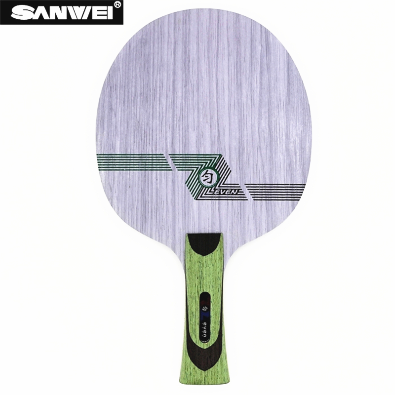 SANWEI Table Tennis Blade Green Even QY 11 Plywood Control For 40+ Ping Pong Racket Bat Paddle