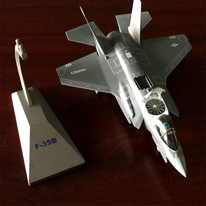 1:72 F-35 Aircraft Model F35 Aircraft Alloy Model Simulation Military Model Exquisite Gift for Collection Free Shiping the united states 1 72 sr 71 blackbird reconnaissance aircraft model aircraft model alloy