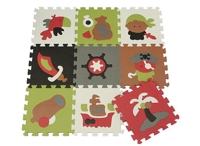 9pcs a set baby jigsaw carton puzzle mats non-toxic foam floor judo karate mat pad carpet crawling eva game baby infant eva mat