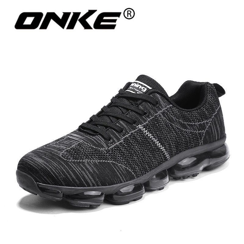 2018 New Style Men Running Shoes Spring Autumn Gym Training Sneakers Lightweight Sports Runner Sneaker Damping Jogging Shoes mulinsen brand new autumn men running shoes inside height increasing outdoor sports shoes jogging training sneakers 270092