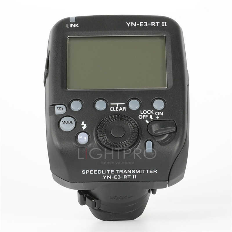 Yongnuo YN-E3-RT TTL Radio Flash Trigger Speedlite Transmitter Controller as ST-E3-RT for Canon 600EX-RT/YONGNUO YN600EX-RT II вспышка для фотокамеры yongnuo speedlite yn600ex rt canon 600ex rt 2 4g hss 1 8000s speedlite yn600ex rt