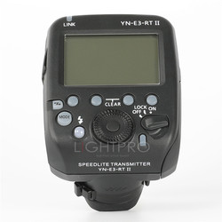 Yongnuo YN-E3-RT TTL Radio Flash Trigger Speedlite Transmitter Controller as ST-E3-RT for Canon 600EX-RT/YONGNUO YN600EX-RT II