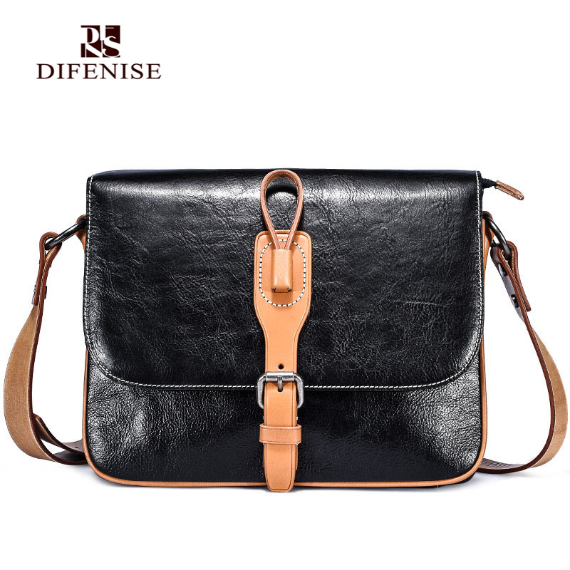 Difenise Design Flap Single font b Men b font Shoulder font b bags b font Vegetable