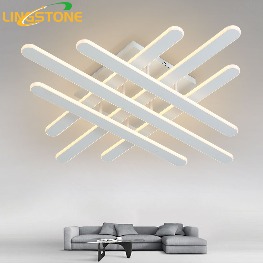 Dimmable Ceiling Lights LED Lamp Modern Ceiling Lighting Remote Control Plafondlamp Indoor Fixture Bedroom Living Room Kitchen dimmable led ceiling lights fixture modern luminaire plafonnier led for living room kitchen bedroom indoor ceiling lamp