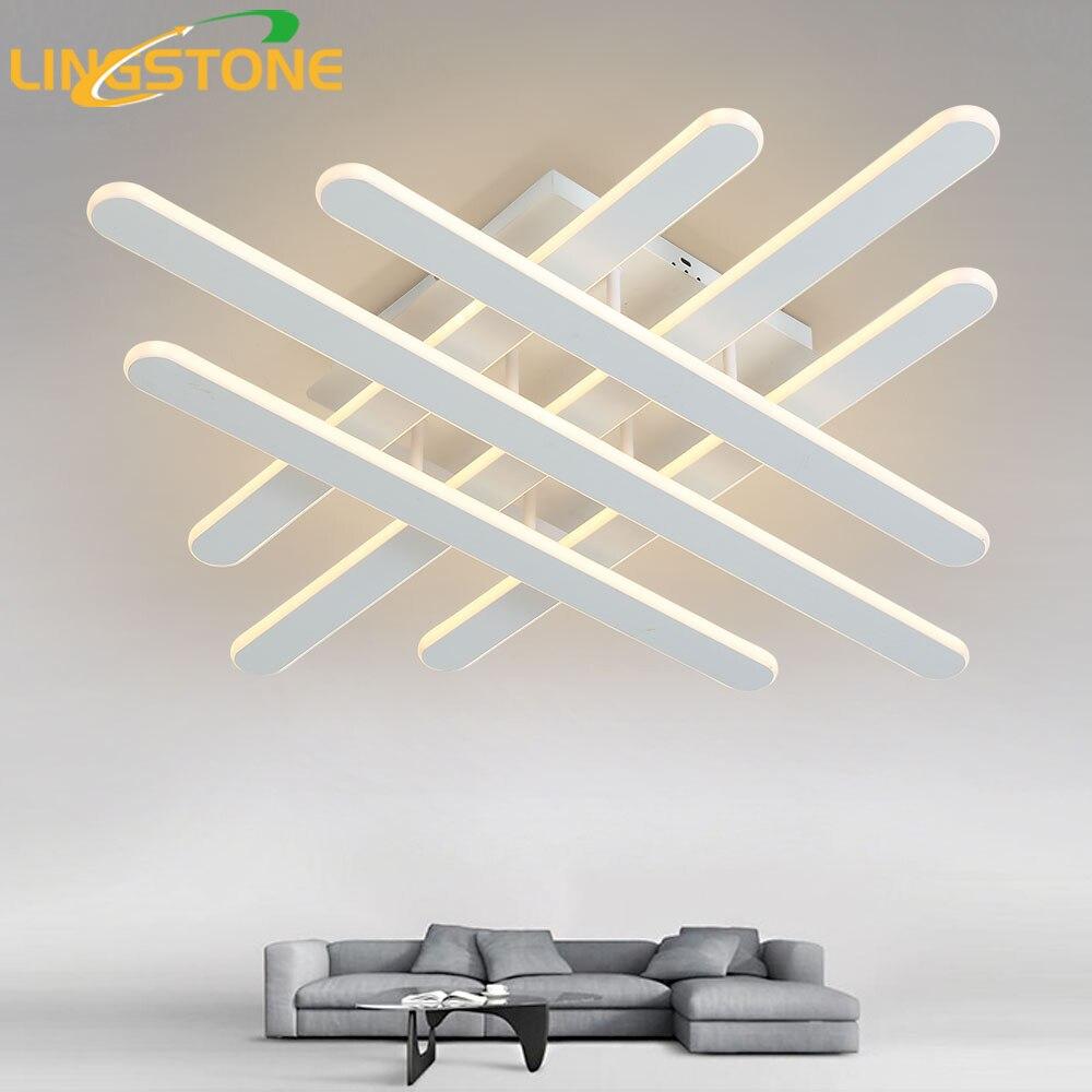 Dimmable Plafond Lumières LED Lampe Moderne Plafond Éclairage Télécommande Plafondlamp Luminaire Intérieur Chambre Salon Cuisine