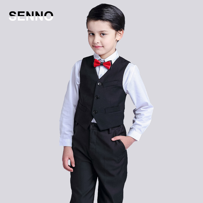 weddings suit for boy long pants short shirt Single Breasted boys suits for Party weddings costume child blazer High Quality