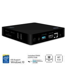 Original beelink z83ii mini pc in-tel atom x5-z8350 quad core Windows10 TV Box 2.4G 5.8G WiFi BT4.0 Set-top Box Mídia jogador