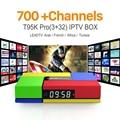 Europa Francés Árabe Canales de IPTV Android 6.0 4 K TV Box S912 T95Kpro 3 GB RAM Soporte Sport Canal Plus Francés Iptv Set Top caja