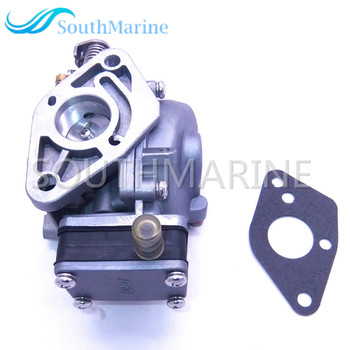 Outboard Engine 369-03200-0 369-03200-1 Carburetor Assy and 369-02011-0 369020110M Gasket for Tohatsu Nissan 5HP 5B Boat Engine фото