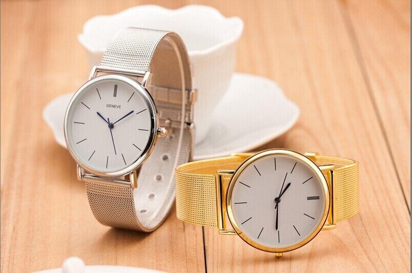 Металлические женские часы