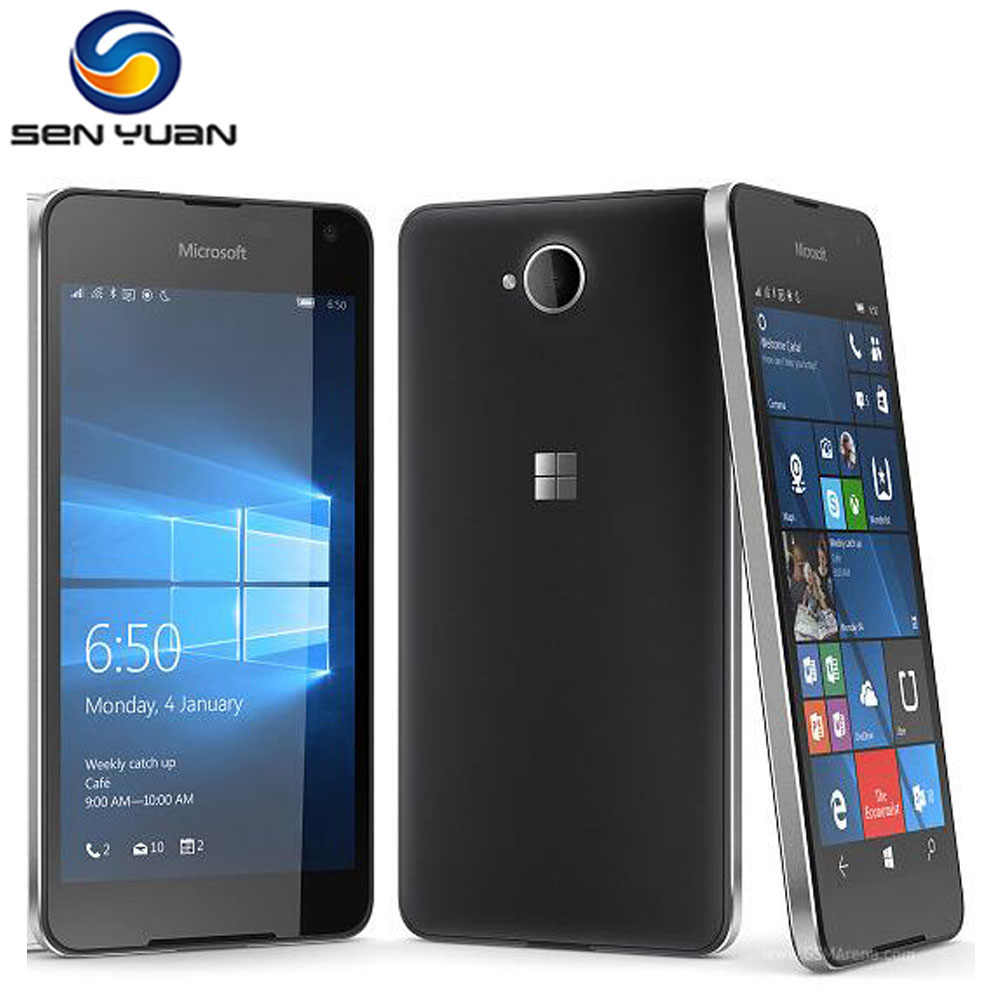 Original Nokia Microsoft Lumia 650 Quad-core 16GB ROM 1GB RAM handy 4G WIFI GPS 8MP Kamera Smart telefon