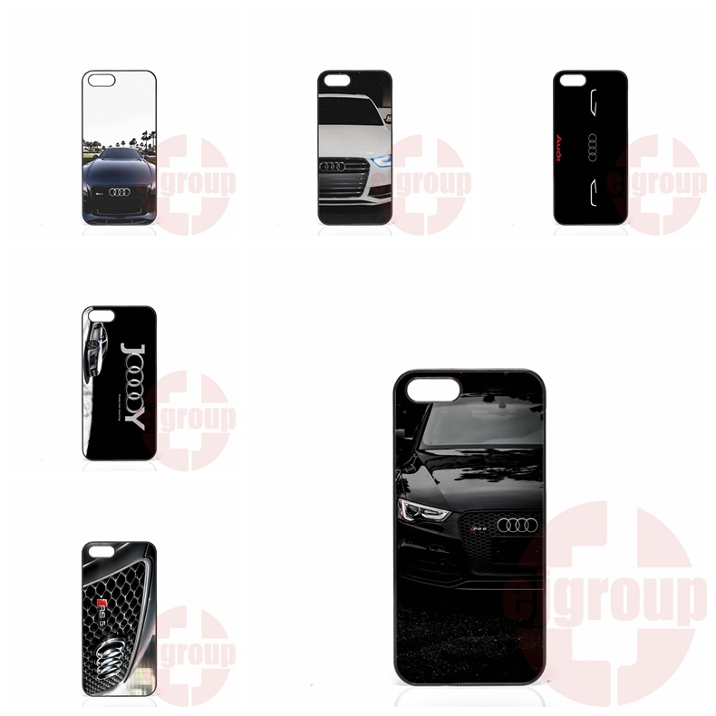 audi car rs logo For Samsung Galaxy Note 2 3 4 5 7 edge lite A3 A5 A7 A8 A9 E5 E7 2016 Mobile Phone