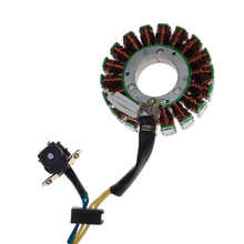 цена на Motorcycle Stator Plate Alternator Generator Coils Magneto For Suzuki GN125 GN 125 Parts In 18 Pole