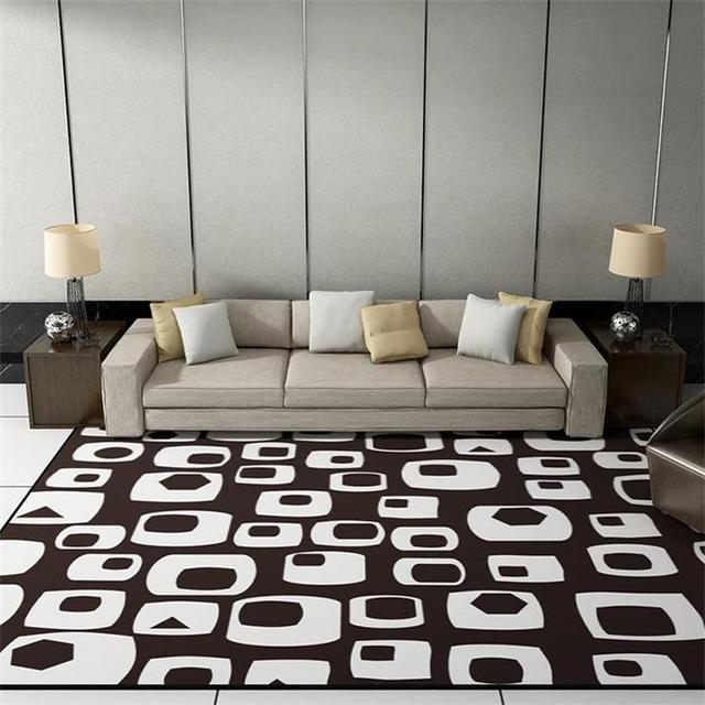 2018 New Simple Carpets For Living Room Fashion Area Rugs For ...