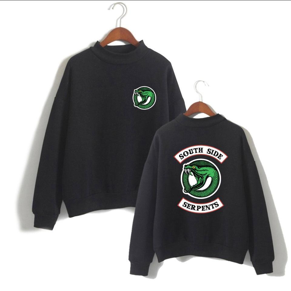 Riverdale New Turtleneck Sweater Riverdale Hoodies Riverdale Women/Men Fashion Turtleneck Sweater XXS To 4XL