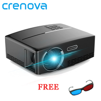 Crenova GP80 Home Theater Portable Projector HDMI USB 1080P HD Cinema Mini LCD LED PC Video Beamer Proyector
