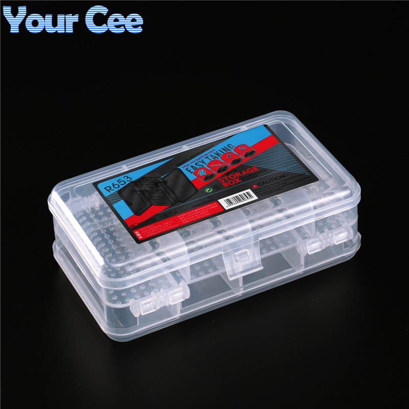 Активные компоненты коробка для хранения электронных DIY Kit 152*95*42 мм