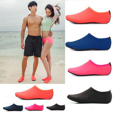 Men Women Barefoot Water surf shoes Quick Dry Upstream Shoes Beach Pool Swim Bathing Sneaker Yoga Wet Swimming Shoes Socks(China)