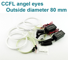 Excellent Ultra bright CCFL Angel Eyes kit halo ring OD size Options: 60,65,70,75,80,85,90,94,97,100,110,106,115,120,126,140
