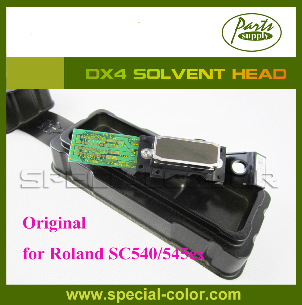 [Get 2pcs DX4 Small Damper as gift] Roland SC540/545ex print head dx4 solvent Original for Epson DX4 бейсболка cayler