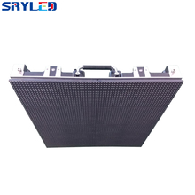 Full Assembled Outdoor 512mm x 512mm Pixel Pitch 8mm Die-casting Aluminum Cabinet Price Including Receiving Card and Package