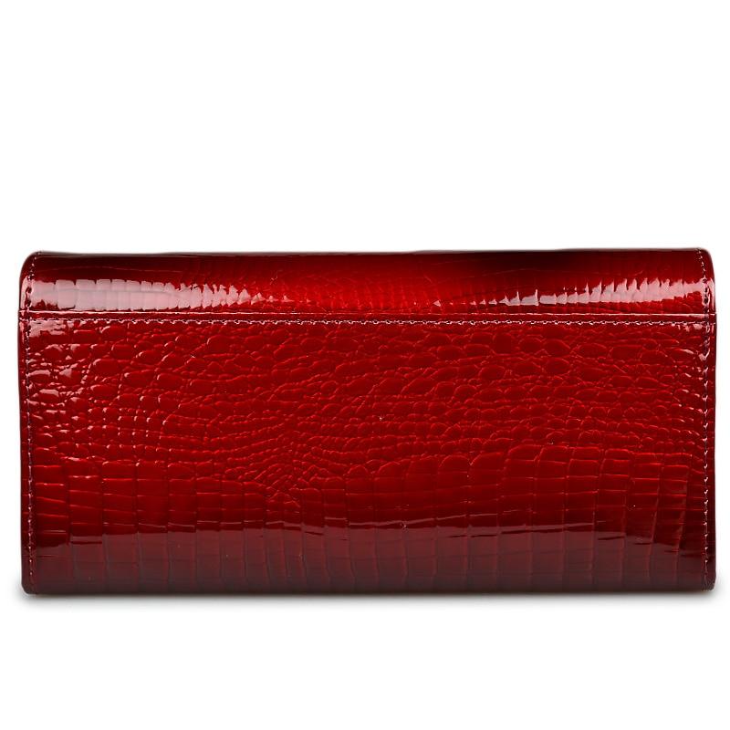 HH Brand Alligator Dompet Wanita dompet kulit wanita dompet dompet - Dompet - Foto 3