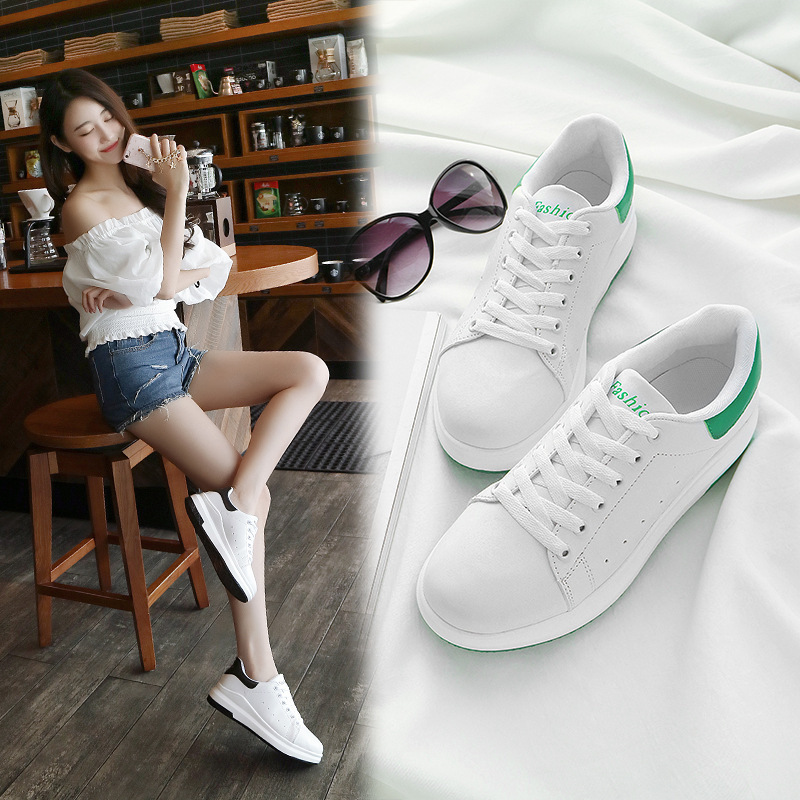 Womens shoes 2019 summer new casual trend thick-soled comfortable fashion white women