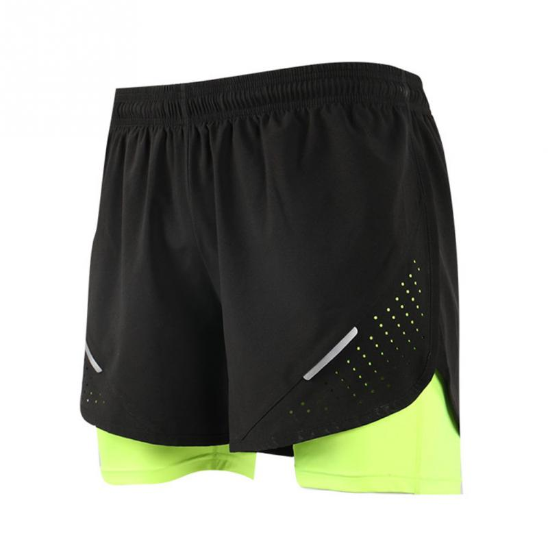 Men Marathon Running Shorts Gym Shorts Quick-dry Gym Short Pants Short Sport Homme Pantalones Cortos Deportivos Hombre Plus Size