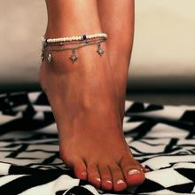 Beach Anklet Trend Individual Multi-layered Creative Simple Star Fashion Jewelry Accesspries