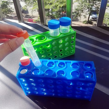 2 sztuka test laboratoryjny rury stojak z tworzywa sztucznego probówki wirówkowe Box do 0 5 ml 1 5 ml 10 ml 15 ml 50ml rury tanie i dobre opinie FAITHFUL 4- Sides 12 ml 8 ml Probówek