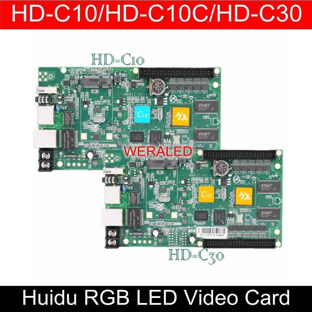 WERALED First Choice Huidu Asynchronization HD C15 HD C15C HD C35 Full Color LED Video Card