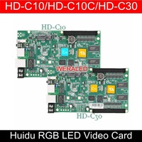 WERALED First Choice Huidu Asynchronization HD C15/HD C15C/HD C35 Full Color LED Video Card ,Can add wireless WIFI/3G/4G modular