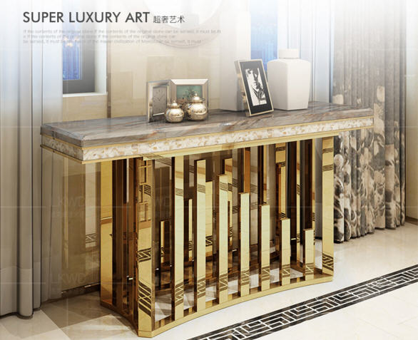 Table-Basse Coffee-Table Marble Living-Room Minimalist Stainless-Steel Mesas-De-Centro