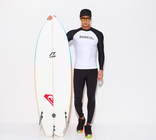 TSMC UV Protect Surfing Rash Guard Men Swimwear Long Sleeve Swimsuit Mens Rashguard Surf Shirt For Swimming Sailing Diving suits