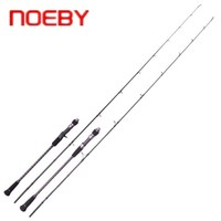 NOEBY INFINITE 1.83m 1.96m Spinning/Casting Fishing Rod ML/M Power Slow Jigging Fishing Rod 2 Sections Carbon Pesca Fish Tackle