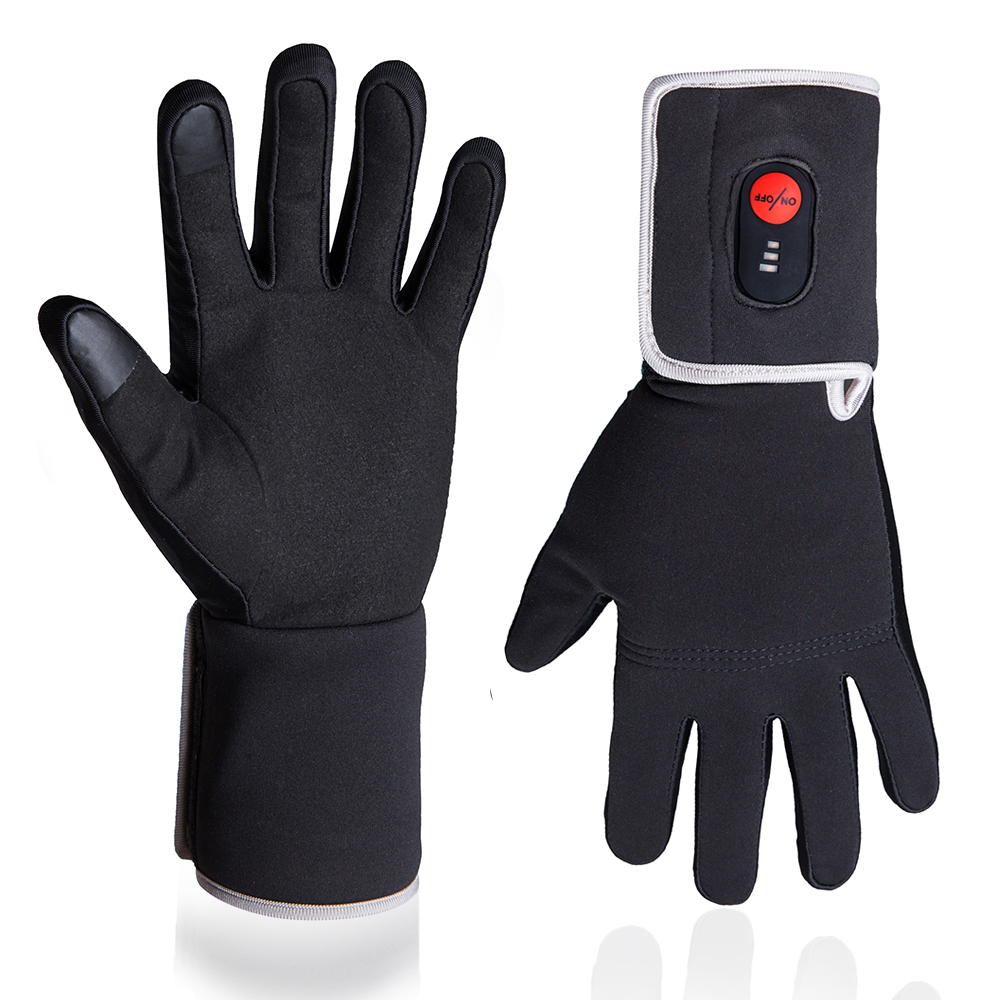 Winter Electric Heating Gloves For Riding Biking Fishing Outdoor Sports