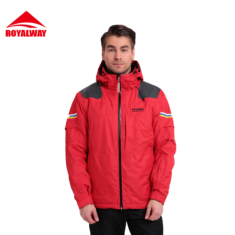 Aliexpress.com : Buy ROYALWAY Men Skiing Jacket Recco GPS Security ...